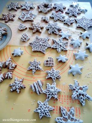 Pierniczki śnieżynki