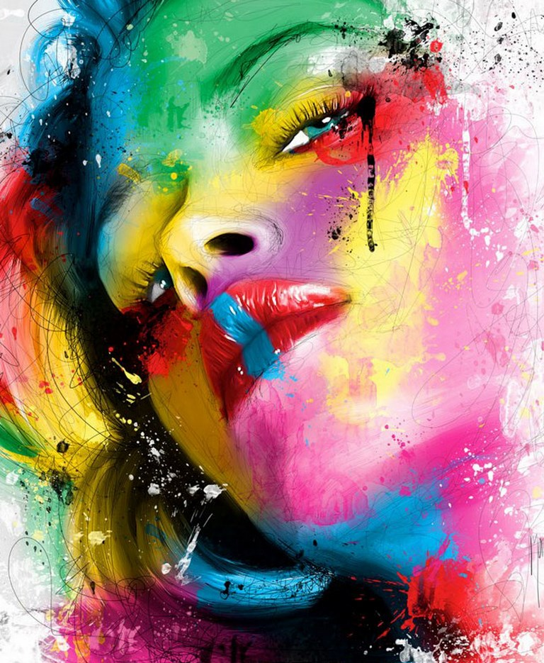 Dibujos : Los mejores dibujos y pinturas de caras con estilo moderno