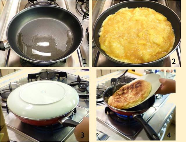 Cuajar tortilla de patata