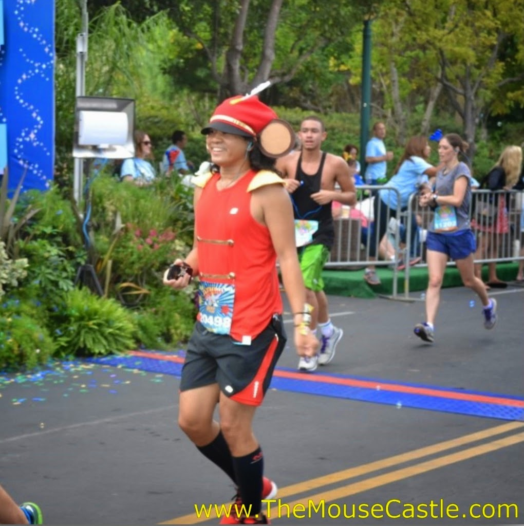 Timothy Mouse at the 2014 Disneyland Half Marathon