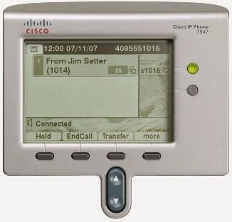 CISCO IP PHONE 7942 INSTRUCTION MANUAL