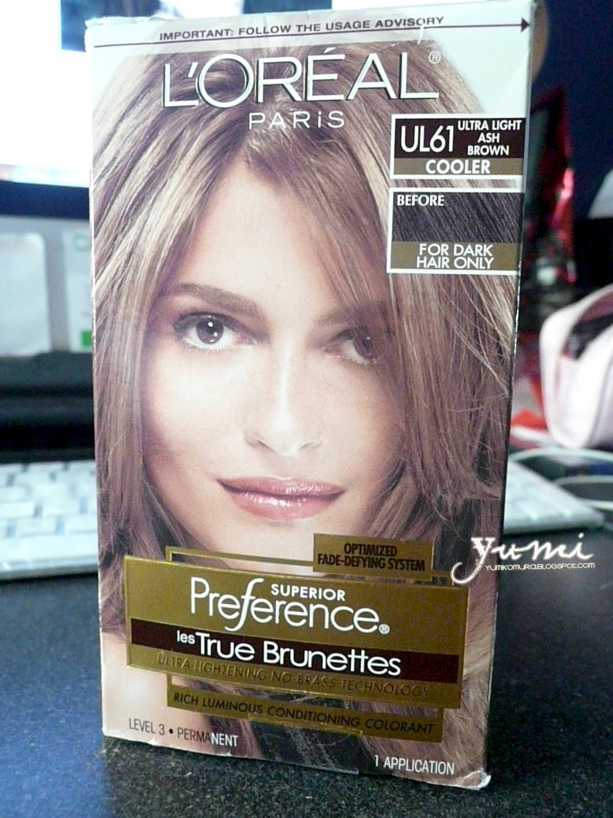 yumikos blog loreal les true brunettes ul61 ultra light
