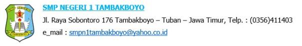 SMPN 1 TAMBAKBOYO