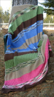 Stripes and Textures Blanket