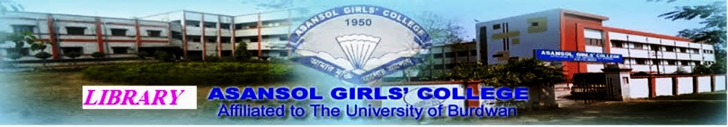 Asansol Girls' College Library-Day Section