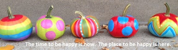 The time to be happy is now.