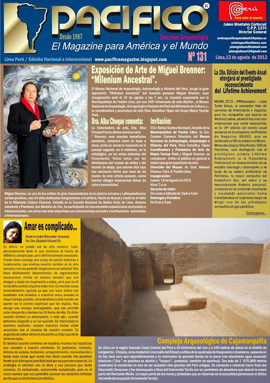 Revista Pacífico Nº 131 Arqueología