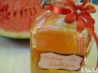 Sirop de pastèque