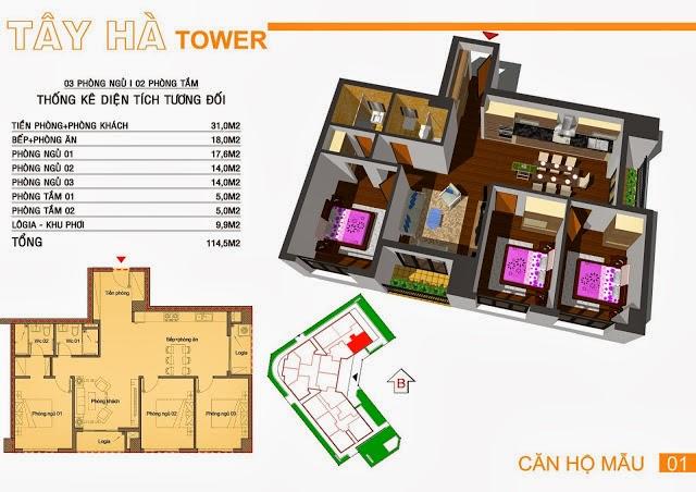 Chung Cư Tây Hà Tower, chung cu tay ha tower, 06