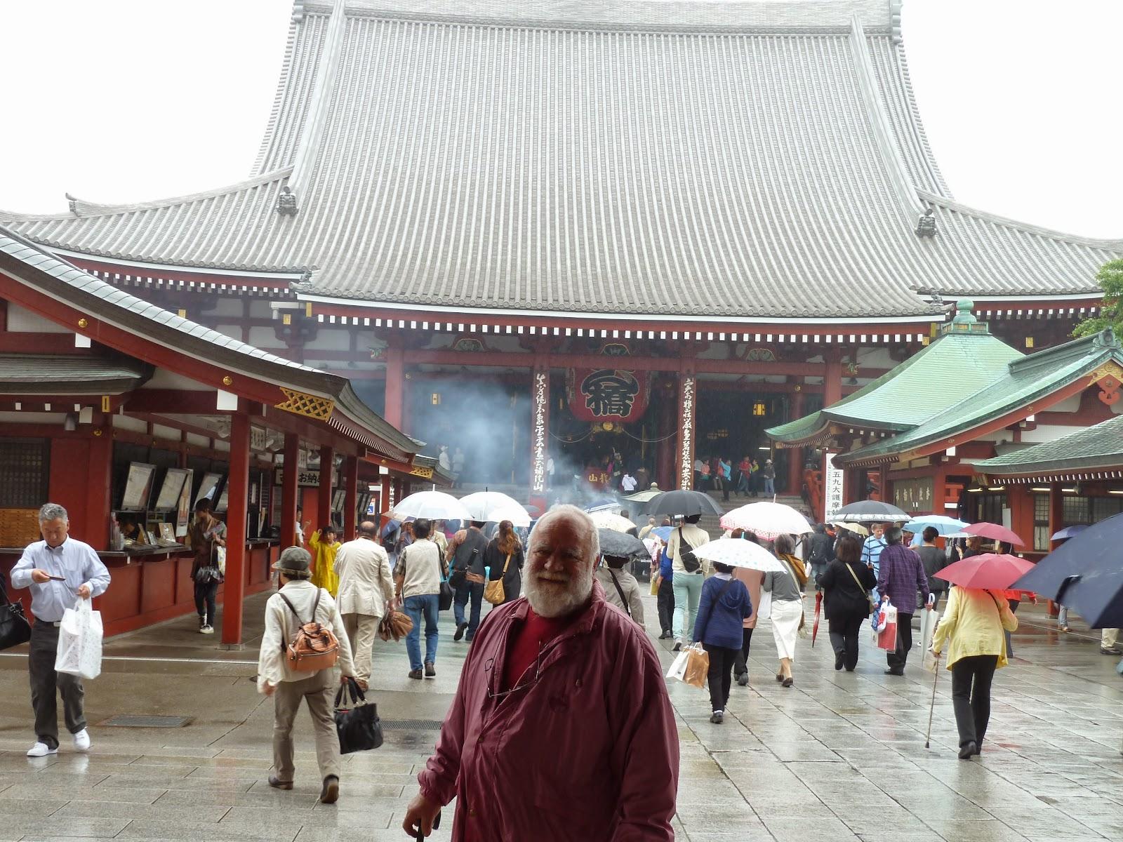 Roberto Ciro Cipolloni in Kyoto, Japan