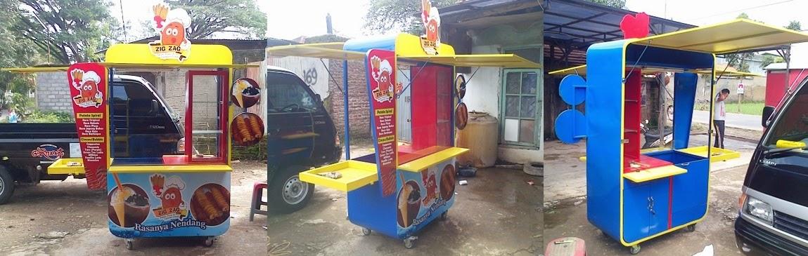 Gerobak Twister Pottato dan Capucino Rp 5.900.000 ...