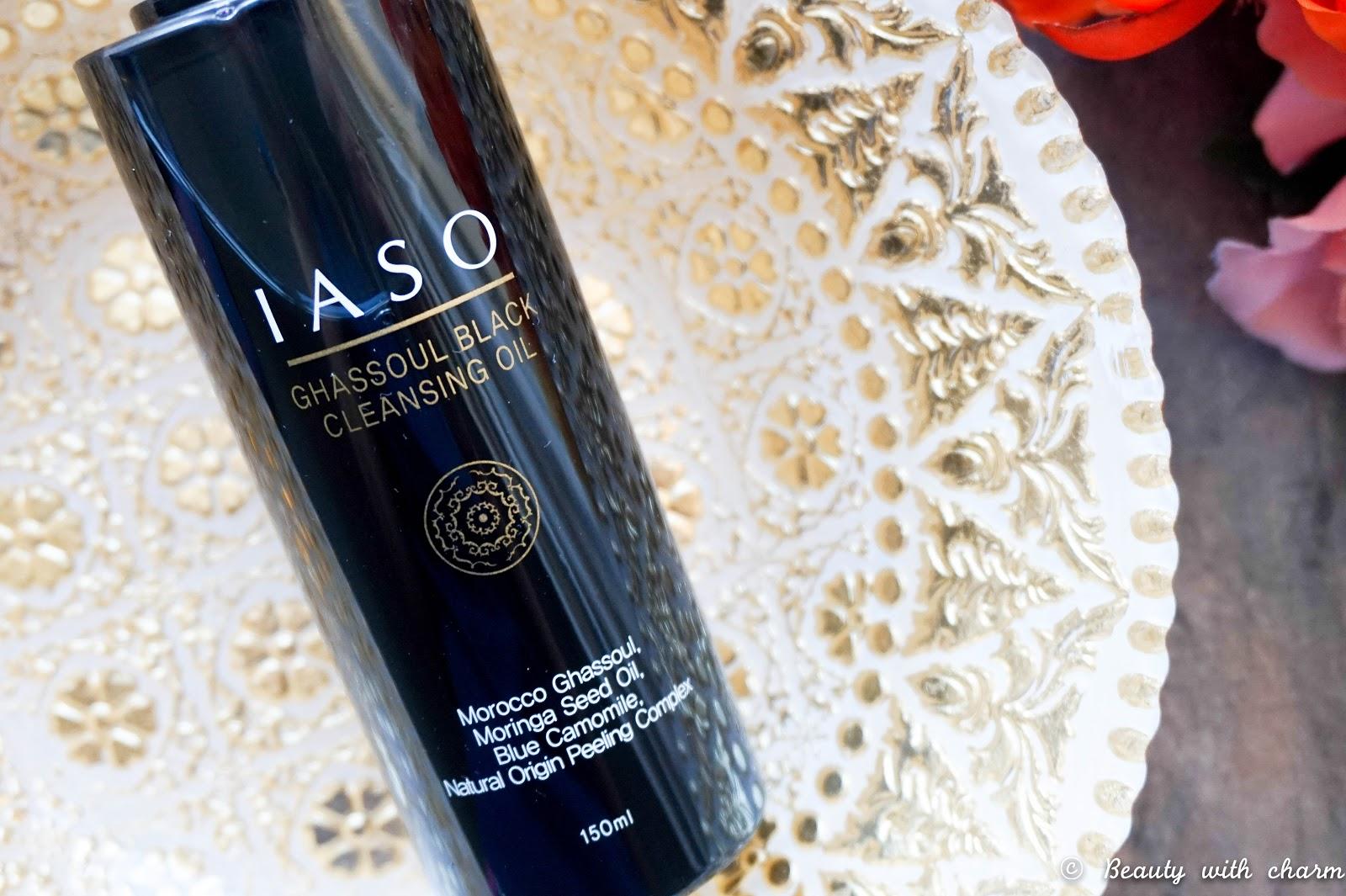 IASO Ghassoul Black Cleansing Oil
