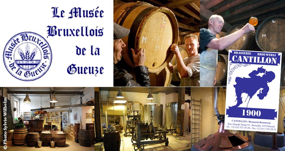 Le Musée bruxellois de la Gueuze - Brasserie Cantillon - Bruxelles-Bruxellons