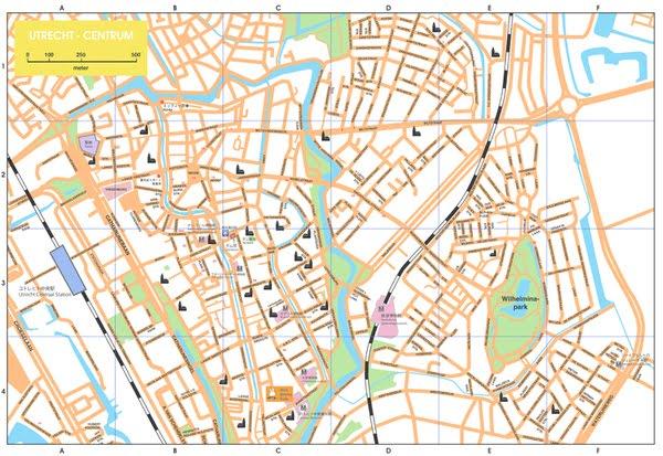 Maps of Netherlands HollandCitiesTourist 2012
