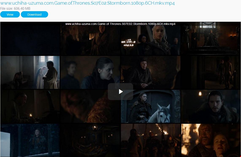 Screenshots stitchingbelle.com.Game.of.Thrones.S07E02.Stormborn.1080p.6CH.mkv 720p 480p 360p MKV MP4