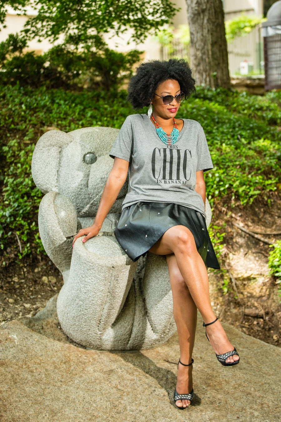 Shirin Askari Leah Frazier Dallas Fashion Blogger Beauty4Ashes This Chic Is Bananas