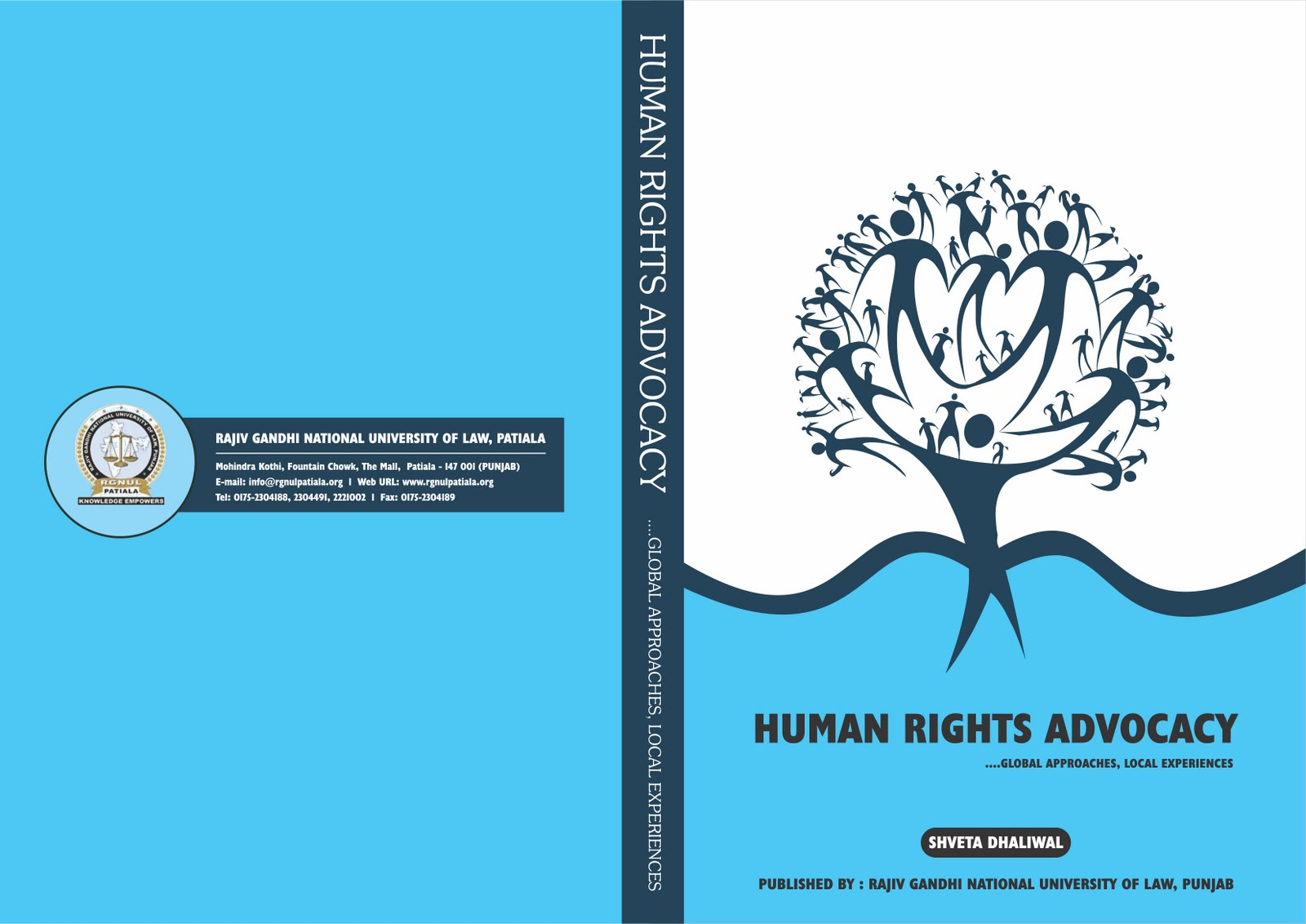 Book Cover Graphism ~ Tarun kumar graphic designer human right book cover