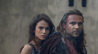 Gannicus y Sybil Spartacus