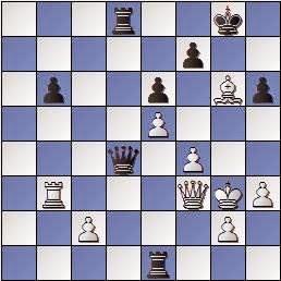 Partida de ajedrez Carbó Batlle vs. Marín i Llovet, posición después de 39.Axg6