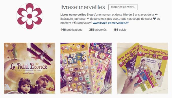 Livres et merveilles sur Instagram - Mois d'août