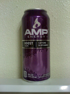 Purple Amp Energy Drink