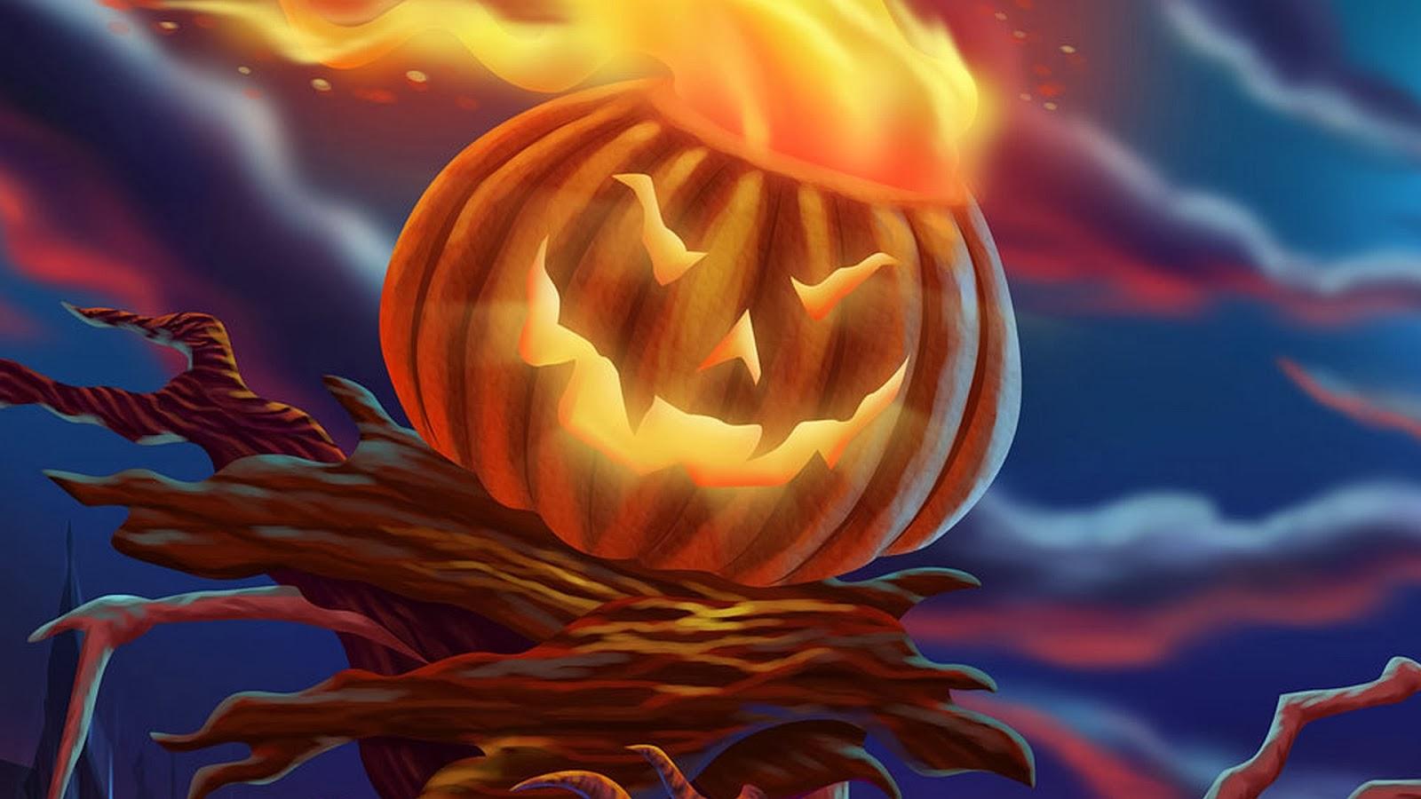 ảnh bí ngô halloween đẹp nhất