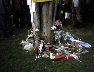 suicide Syntagma Square Athens Greece