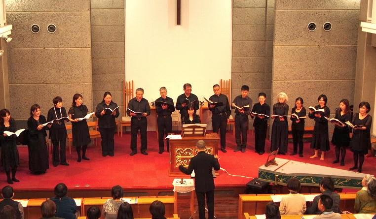 日本福音ルーテル健軍教会 日本福音ルーテル健軍教会: 雨森文也先生とスコラカントールム熊本