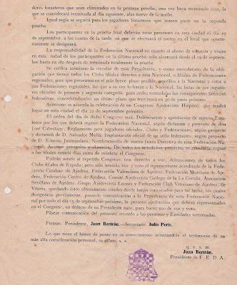 Carta sobre el Torneo Internacional de Ajedrez de Barcelona 1929 (3)