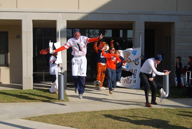 Montgomery Catholic Preparatory School Holy Spirit Pep Rally Surprise 1