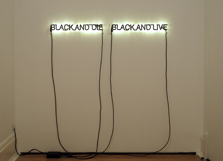 Glenn Ligon - My Top Ten Black Contemporary Artists
