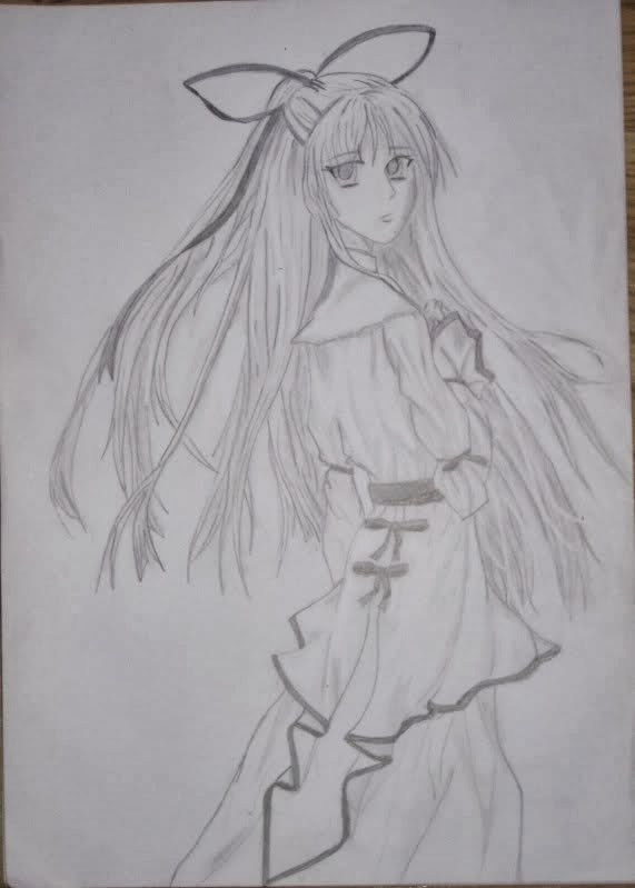 manga, anime, sketch