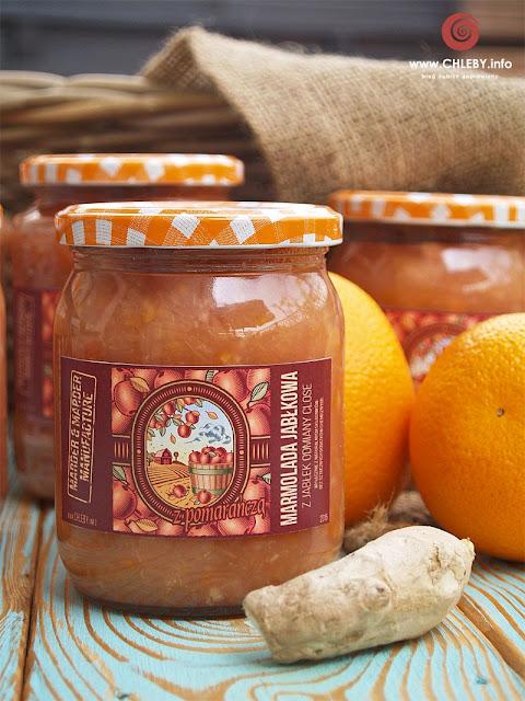 Marmolada jabłkowa z pomarańczą