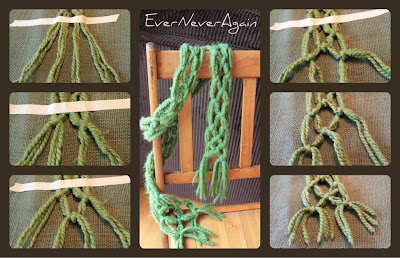 handmade no knit scarf