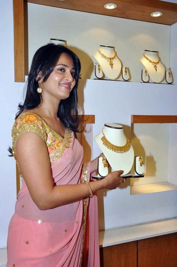Actress Anushka Sheety