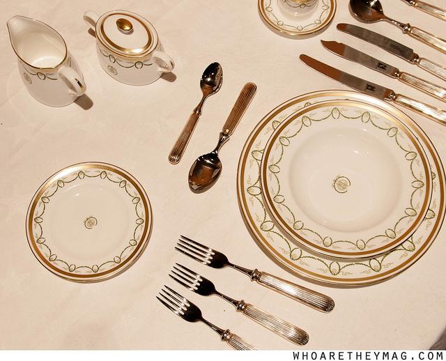 Посуда с Титаника