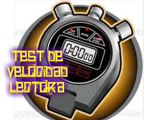 TEST DE VELOCIDAD LECTORA