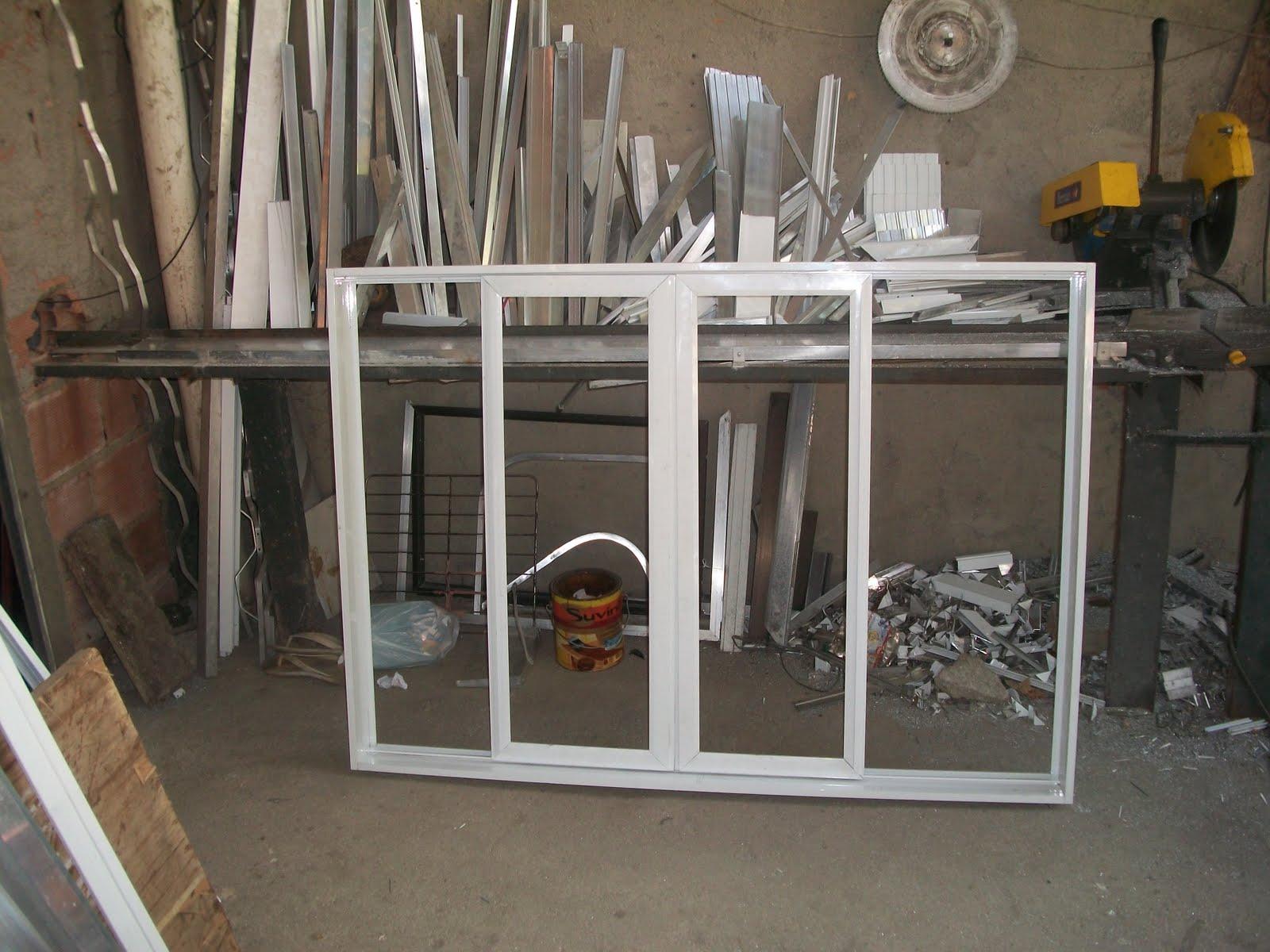 #B48317 se faz esquadrias de aluminio: janela de alumínio correr 4 folhas 892 Montar Uma Janela De Aluminio
