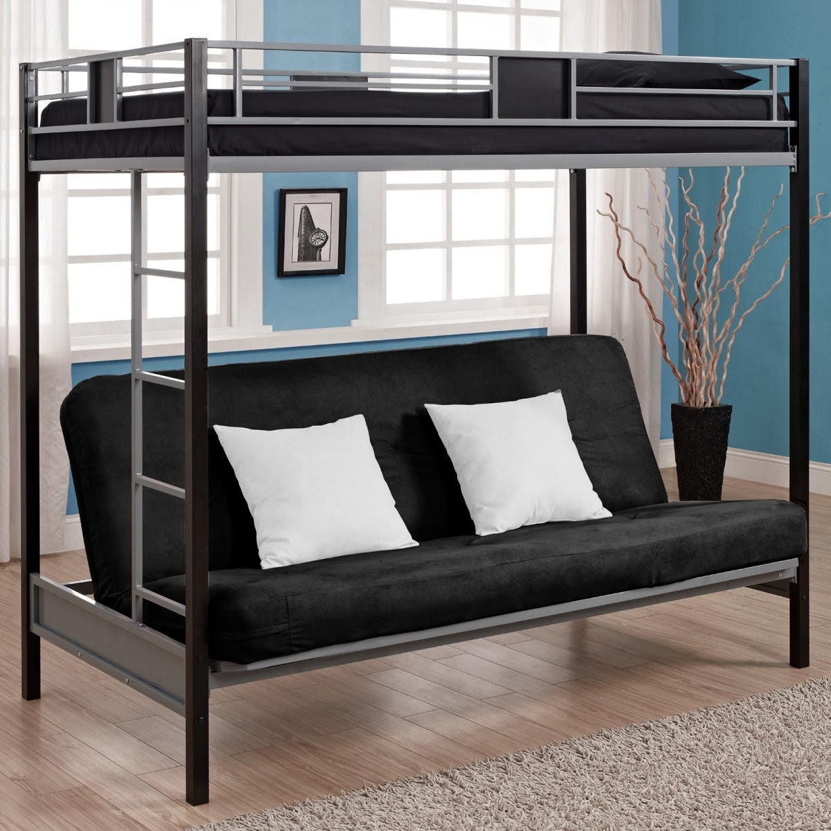 Twin Over Futon Bed 1200 x 1200