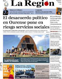 'El Naturalista Cojo' rompe las barreras (Portada en La Región, 21/07/2017)