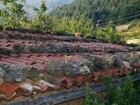 Detall d'una teulada