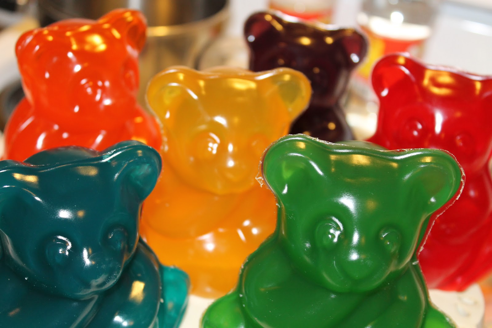 Giant Gummy Bear Cake Mold