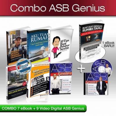 7 e-book + 9 Video = RM 60 Saja