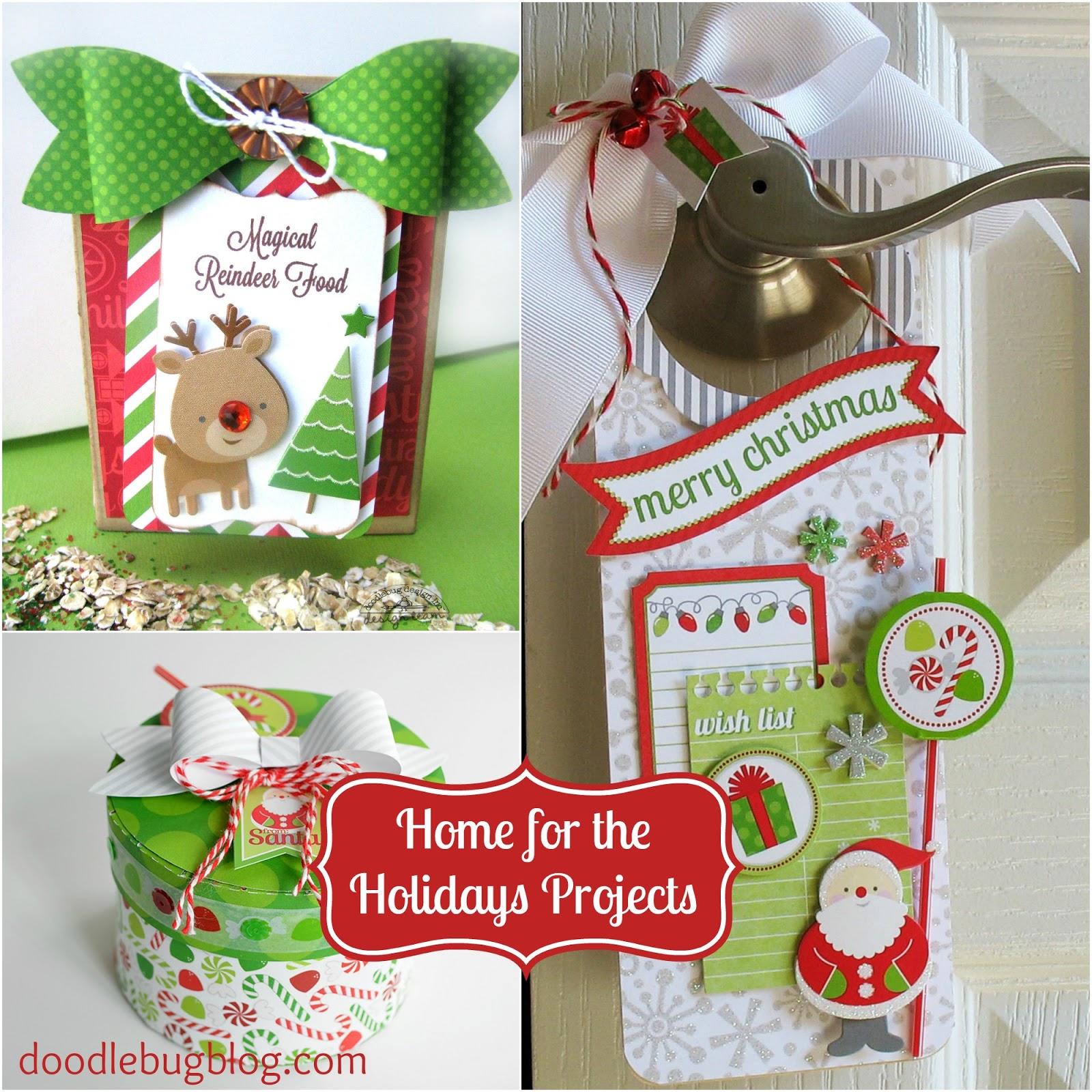 doodlebug design inc blog home for the holidays reindeer food