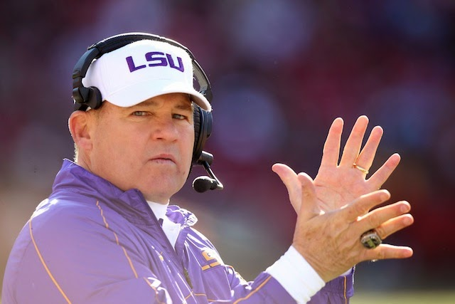 Les Miles will NOT be Michigan's next head coach.