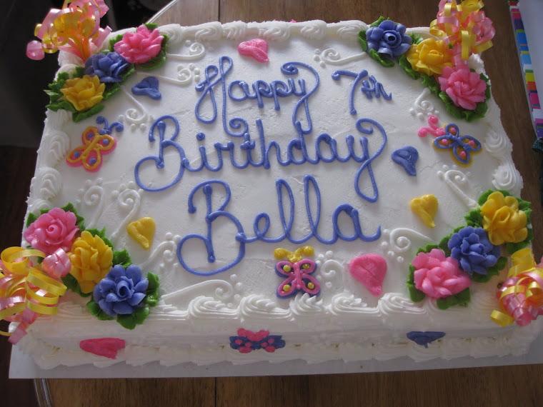 Bella is 7!