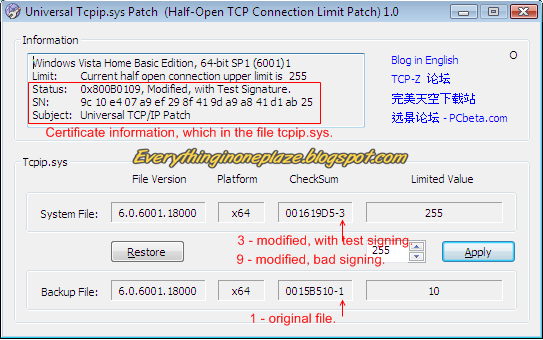 Universal Tcpip Patch Download