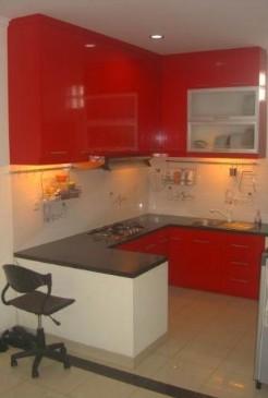 Tips desain dan harga kitchen set simpati furniture for Harga kitchen set sederhana
