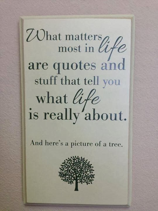 What Really Matters In Life Quote Quotes