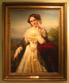 Carl Ferdinand Sohn: Porträt der Mathilde Wesendonck. 1850